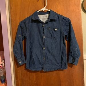 Calvin Klein denim shirt sz 6